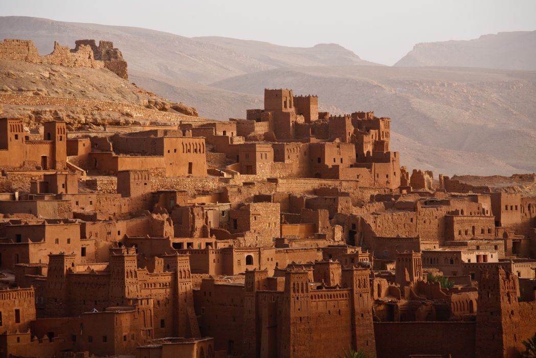 H οχυρωμένη αυτή πόλη Αΐτ-Μπεν-Χαντού στο Μαρόκο