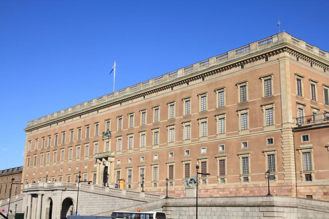 Το βασιλικό παλάτι της Στοκχόλμης
