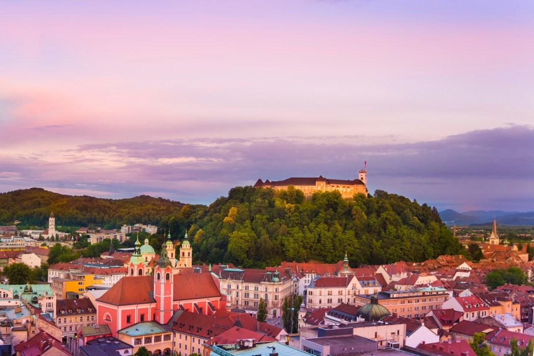 Η όμορφη Λιουμπλιάνα της Σλοβενίας