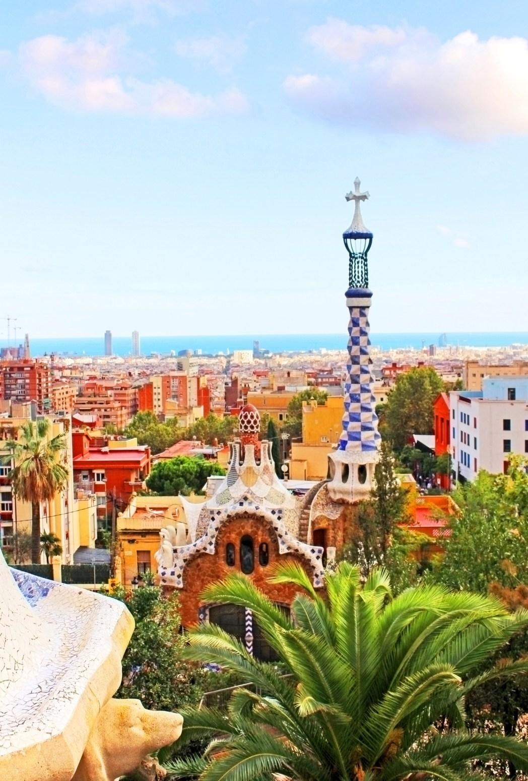 Parc Guell στη Βαρκελώνη - τοπ 20 φθινοπωρινοί προορισμοί