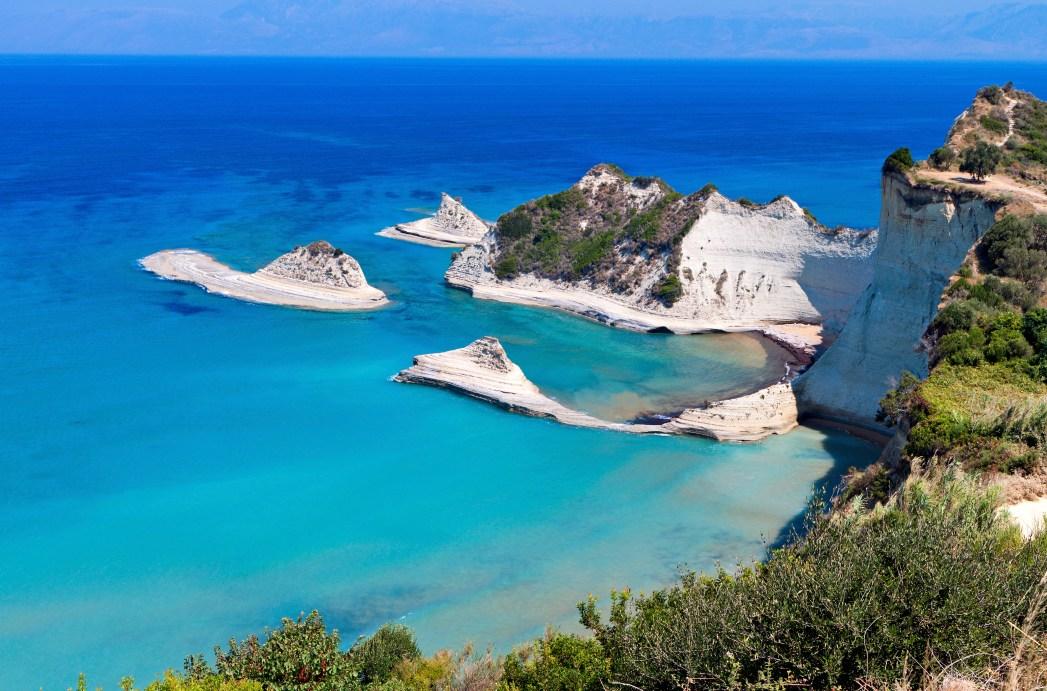 Μία απ' τις ομορφότερες παραλίες της Ελλάδας είναι και ο Δράστης, Κέρκυρα
