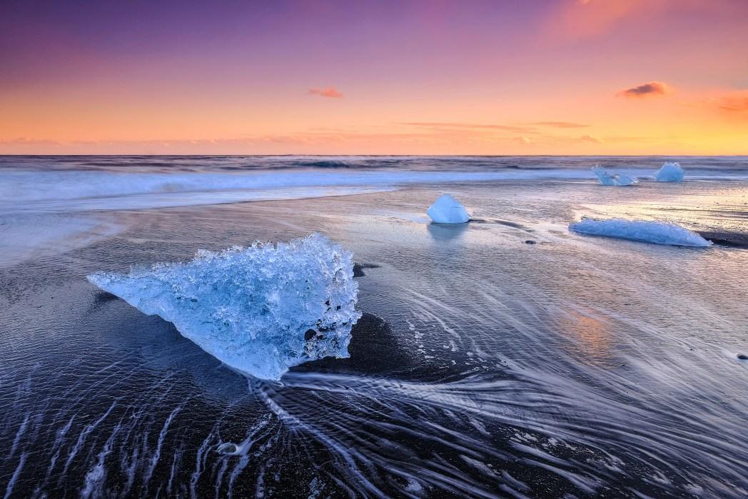 Το παγόβουνο Vatnajökull στην Ισλανδία
