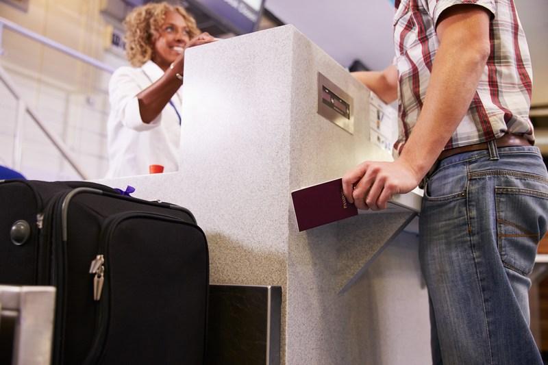 Check-in στο αεροδρόμιο