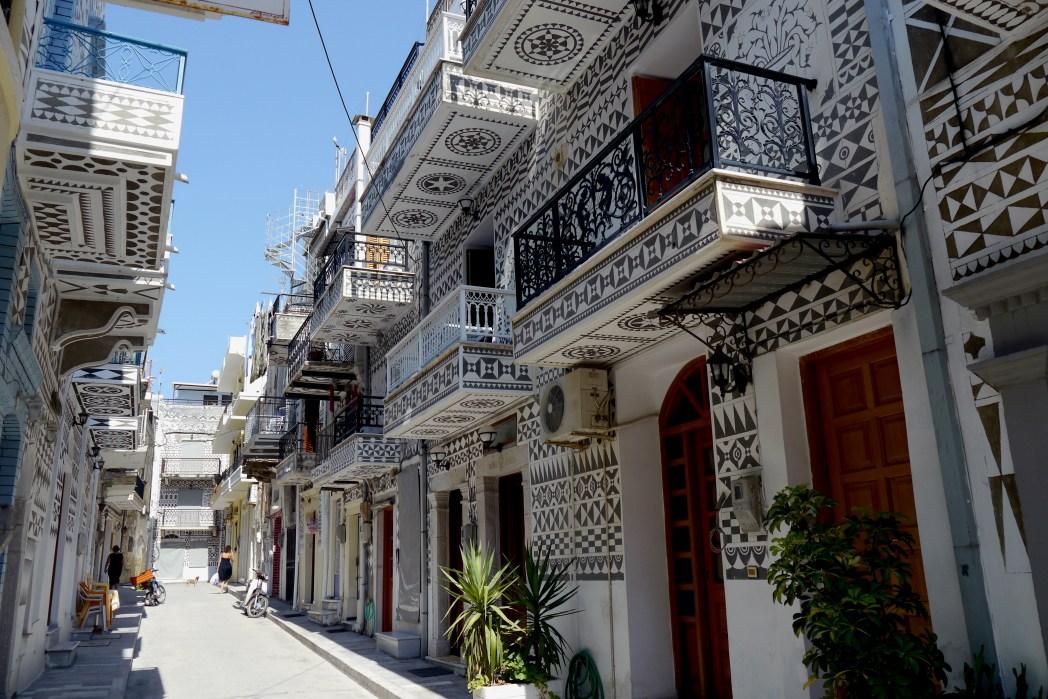 Περίτεχνα στολισμένα σπίτια στη Χίο
