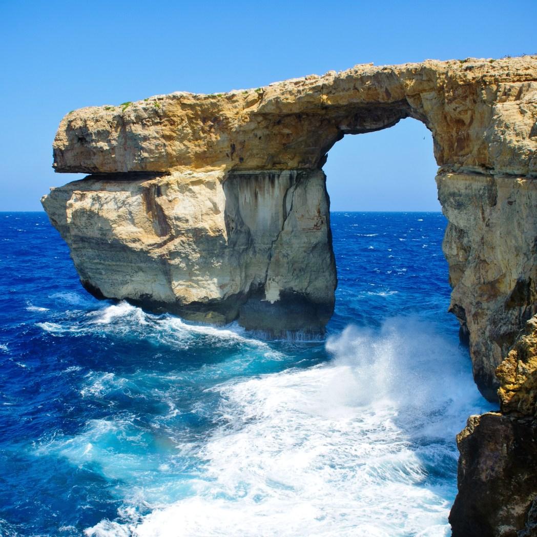 Το Γαλάζιο Παράθυρο, Μάλτα