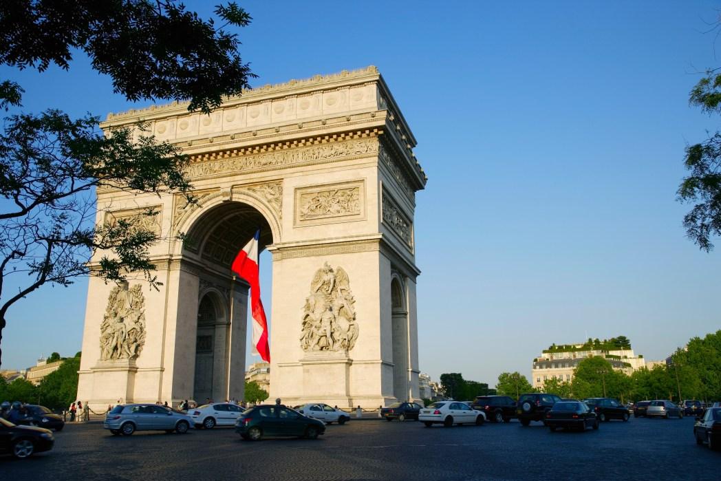 Αψίδα του Θριάμβου, Παρίσι