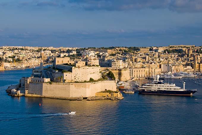 Φρούριο του Saint Angelo στο Birgu της Μάλτας