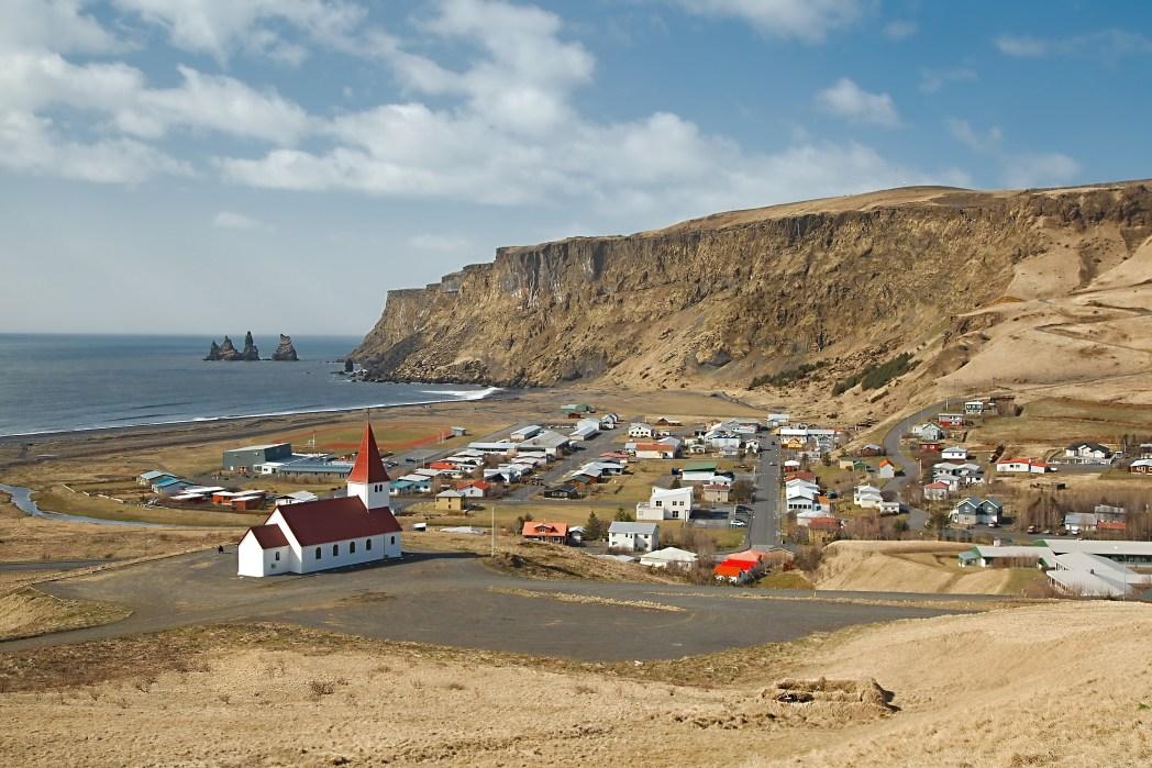 Η περιοχή Höfðabrekka στην Ισλανδία