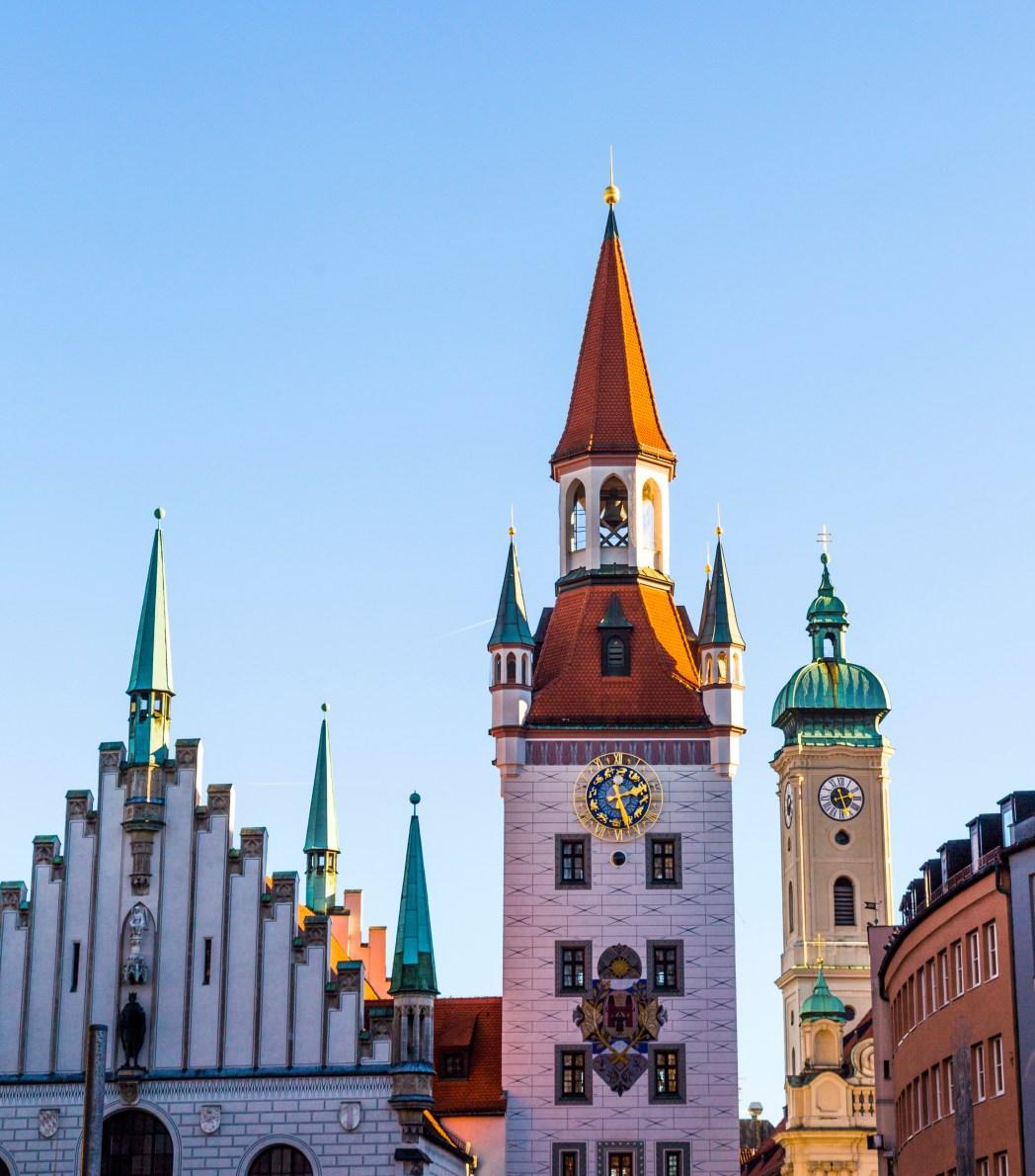 Παλαιό δημαρχείο, Μόναχο, Γερμανία