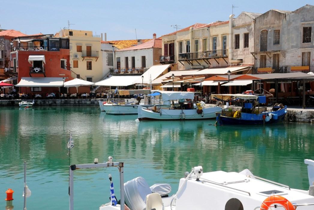 Το παλιό ενετικό λιμάνι του Ρεθύμνου, Κρήτη